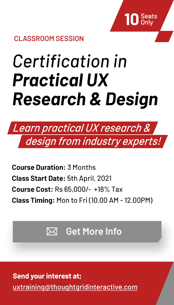UX Training company bangalore